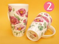 Dunoon Henley Porzellanbecher -Poppies-