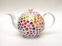 Dunoon Teekanne Hot Spots Fine Bone China 1,2l