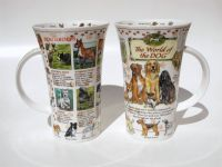 Dunoon Glencoe Porzellanbecher -World of the Dog-