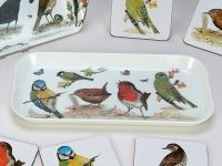 Roy Kirkham Tablett -Garden Birds-