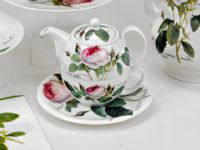 Redoute Roses, Roy Kirkham Tea for One