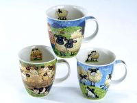 Dunoon Becher Nevis -Sheepies- Bone China Porzellan