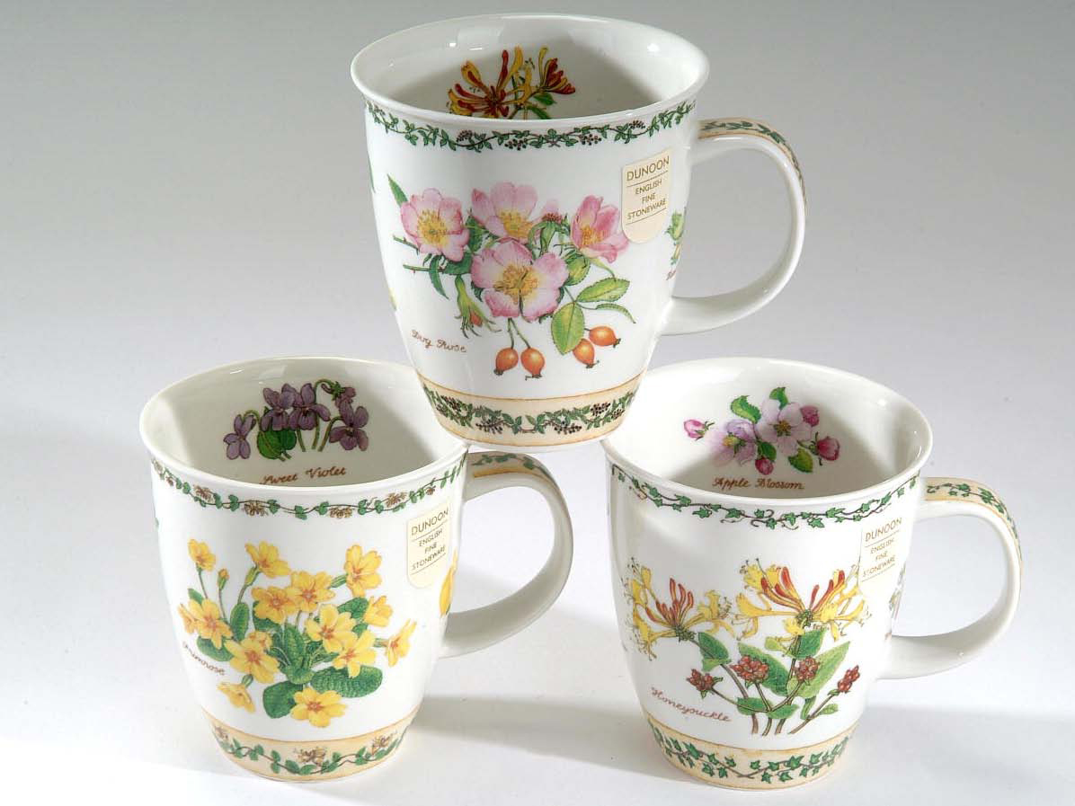 dunoon becher nevis nature trail bone china porzellan ebay. Black Bedroom Furniture Sets. Home Design Ideas