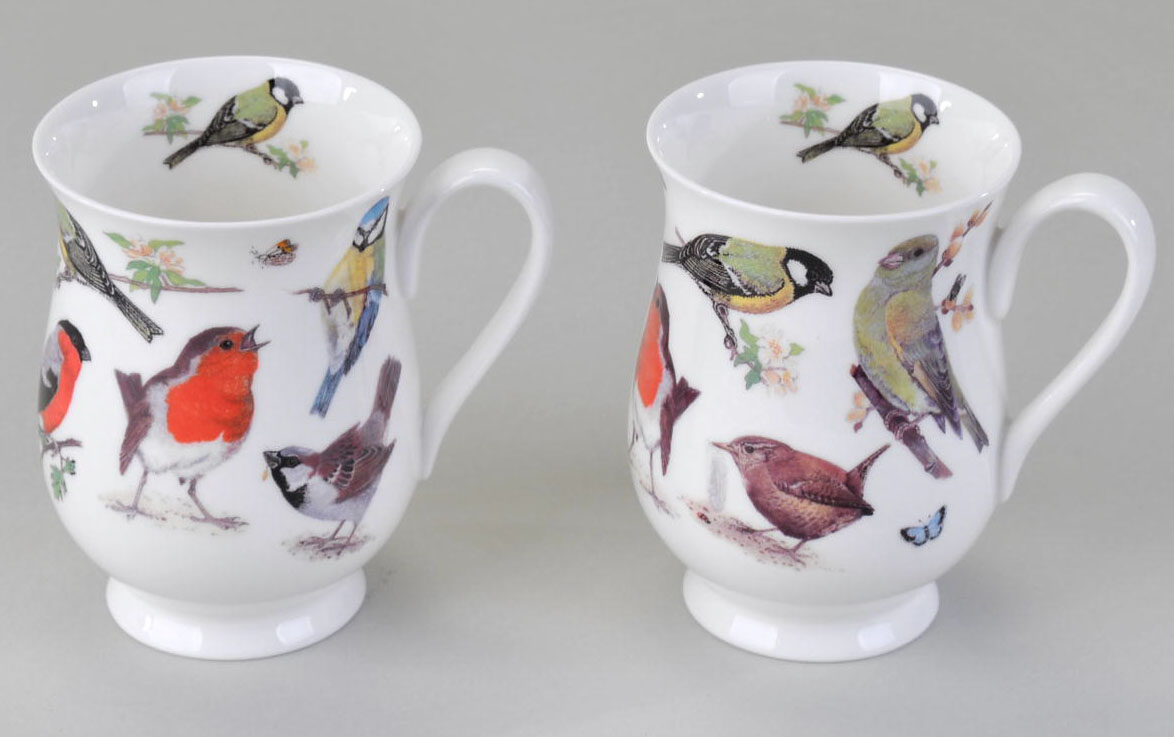 roy kirkham becher garden birds v gel eleanor kaffeebecher porzellan tasse ebay. Black Bedroom Furniture Sets. Home Design Ideas