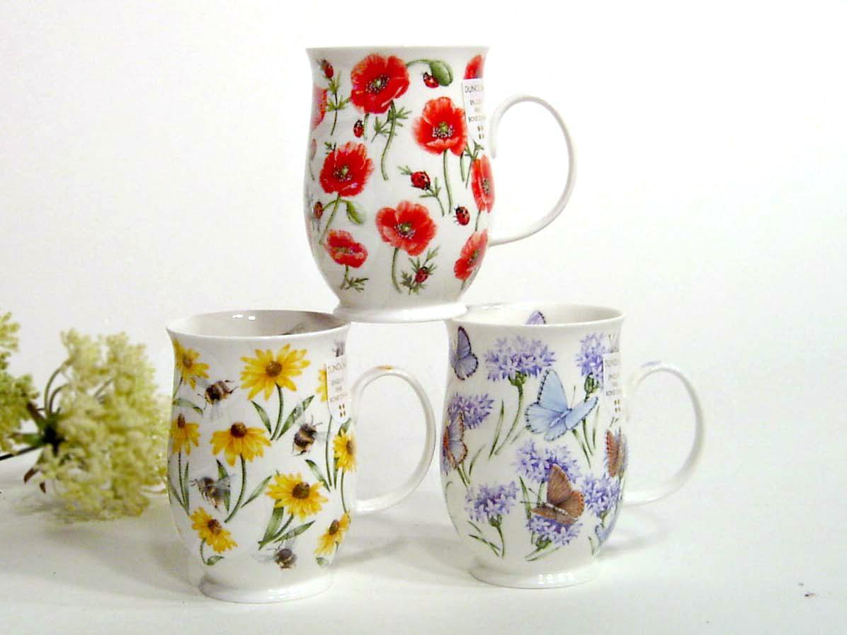 Dunoon Suffolk Porzellan Teebecher / Kaffeebecher