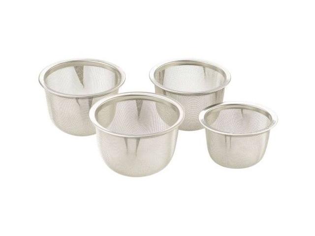 Praktische Teekugel Gewürzsieb Mesh Infuser Filter Edelstahl Kräuter