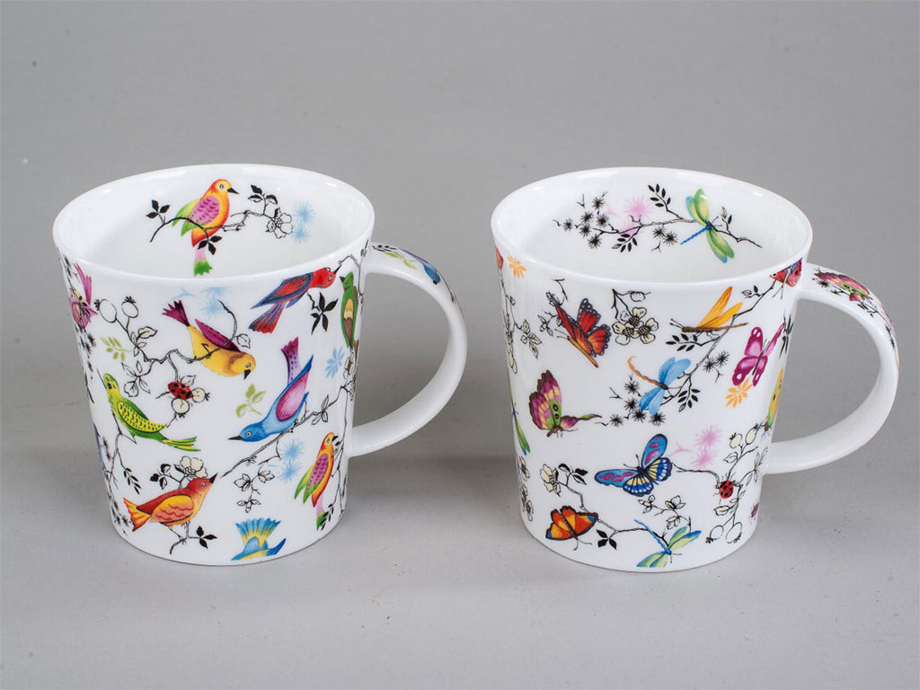 dunoon tasse lomond paradise v gel kaffeebecher porzellan becher england ebay. Black Bedroom Furniture Sets. Home Design Ideas