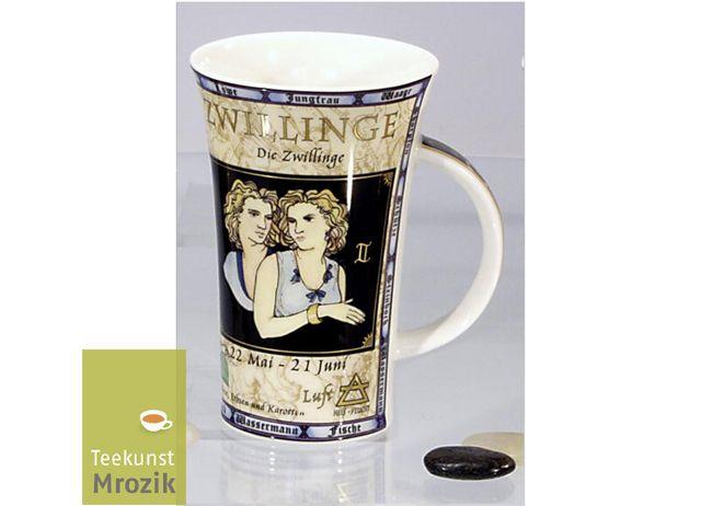 Dunoon Zwilling Sternzeichentasse Teekunst Zodiacs Mrozik Glencoe 4A5j3LR