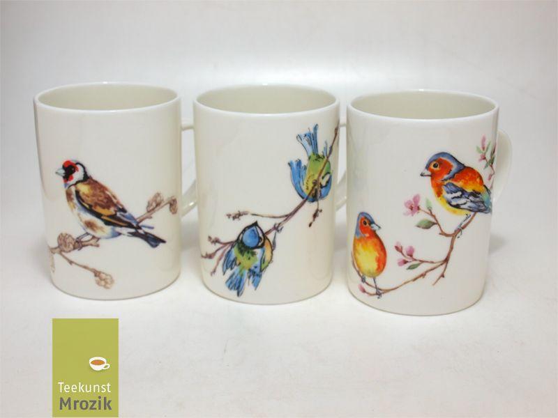 Birds Roy Kirkham Lyric Mug Vogelmotiv